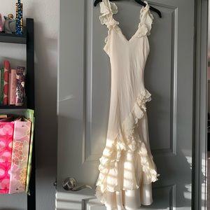Ralph Lauren Eggshell White Dress